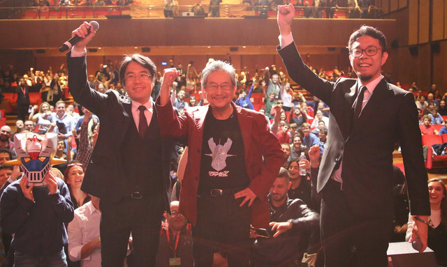 나가이 고 선생, 제 12회 로마 국제 영화제에 참석,..