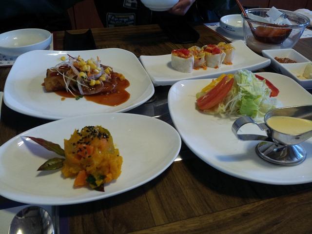 오늘의 점심메뉴, 양념 소갈비살 숯불구이와 비빔밥