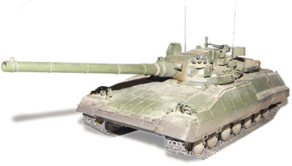 Object 477A 1:10 모델