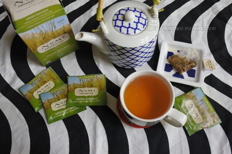 아이허브 누미티 그린루이보스 Iherb Numi Tea G..
