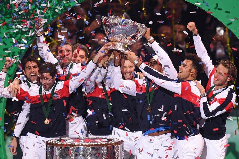 2017 데이비스 컵-프랑스 우승!!