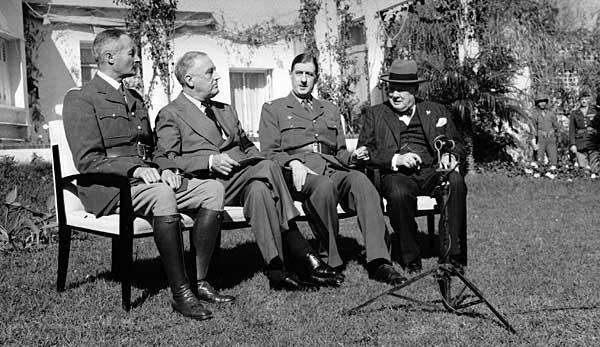 [1943년]루스벨트, 전후 인도차이나 처리 방침?