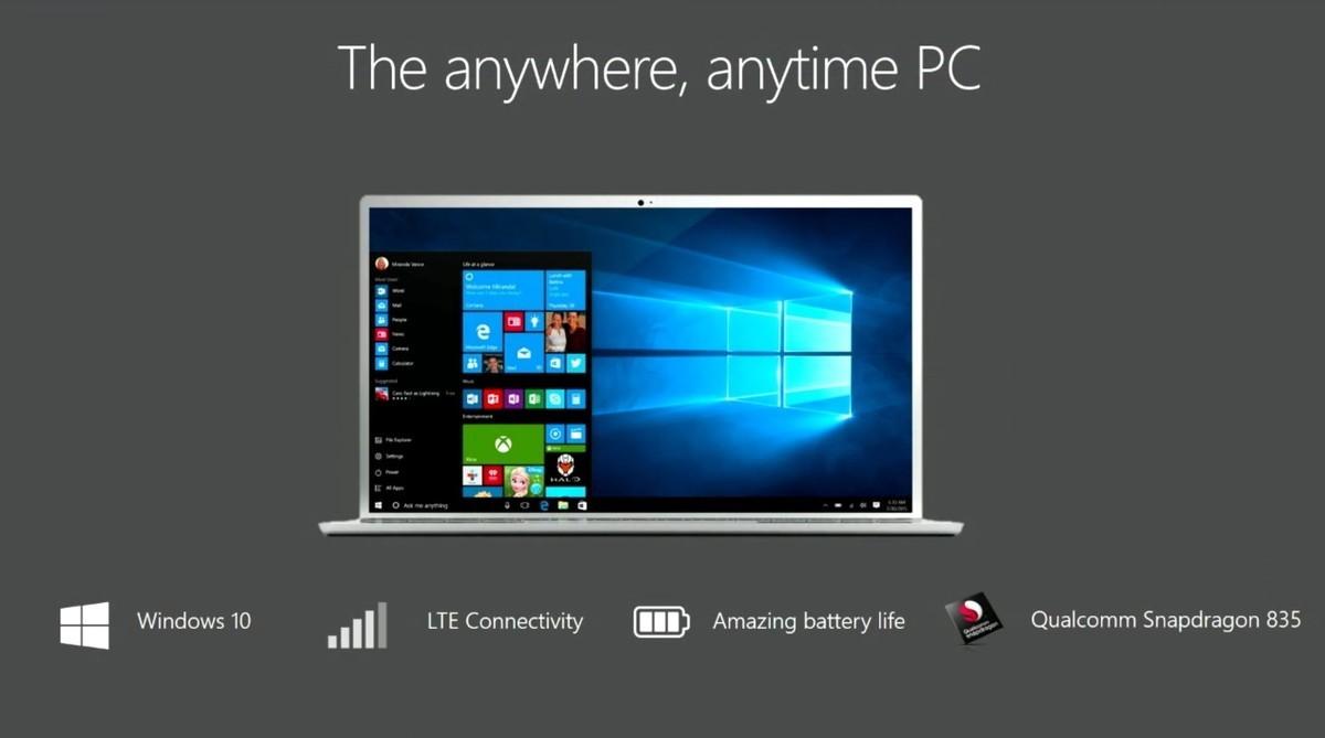 MS와 퀄컴, ARM용 윈도우10 발표