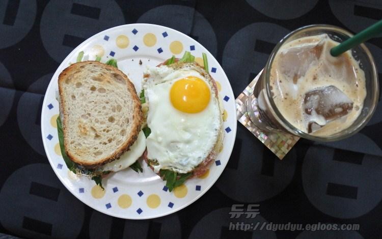 호밀빵 샌드위치