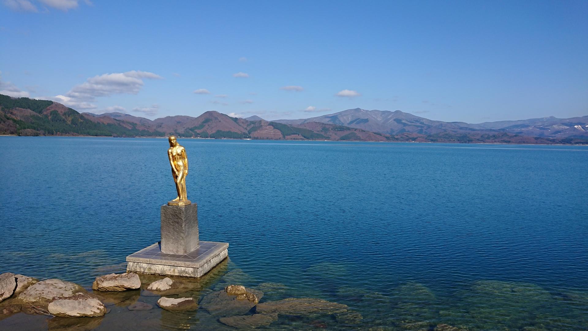 [아키타] 타츠코 상 - 이 동상에는 슬픈 전설이 있..