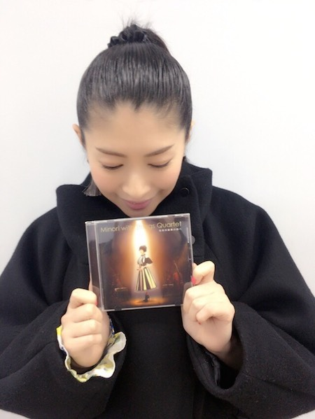 """치하라 미노리의 블로그 2017.12.29. CD """"Minori with St.."""