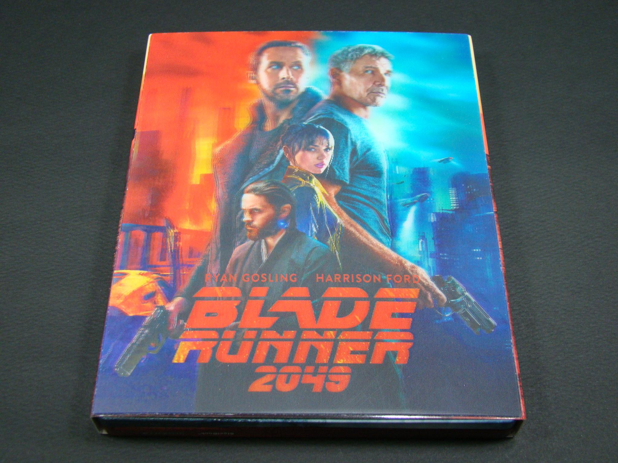 [블루레이] '블레이드 러너 2049' 렌티큘러 스틸..