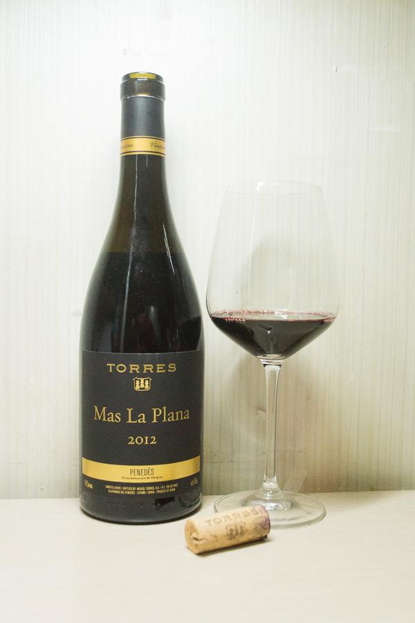 Torres Mas La Plana 2012 - 새해의 첫 와인은 스페..