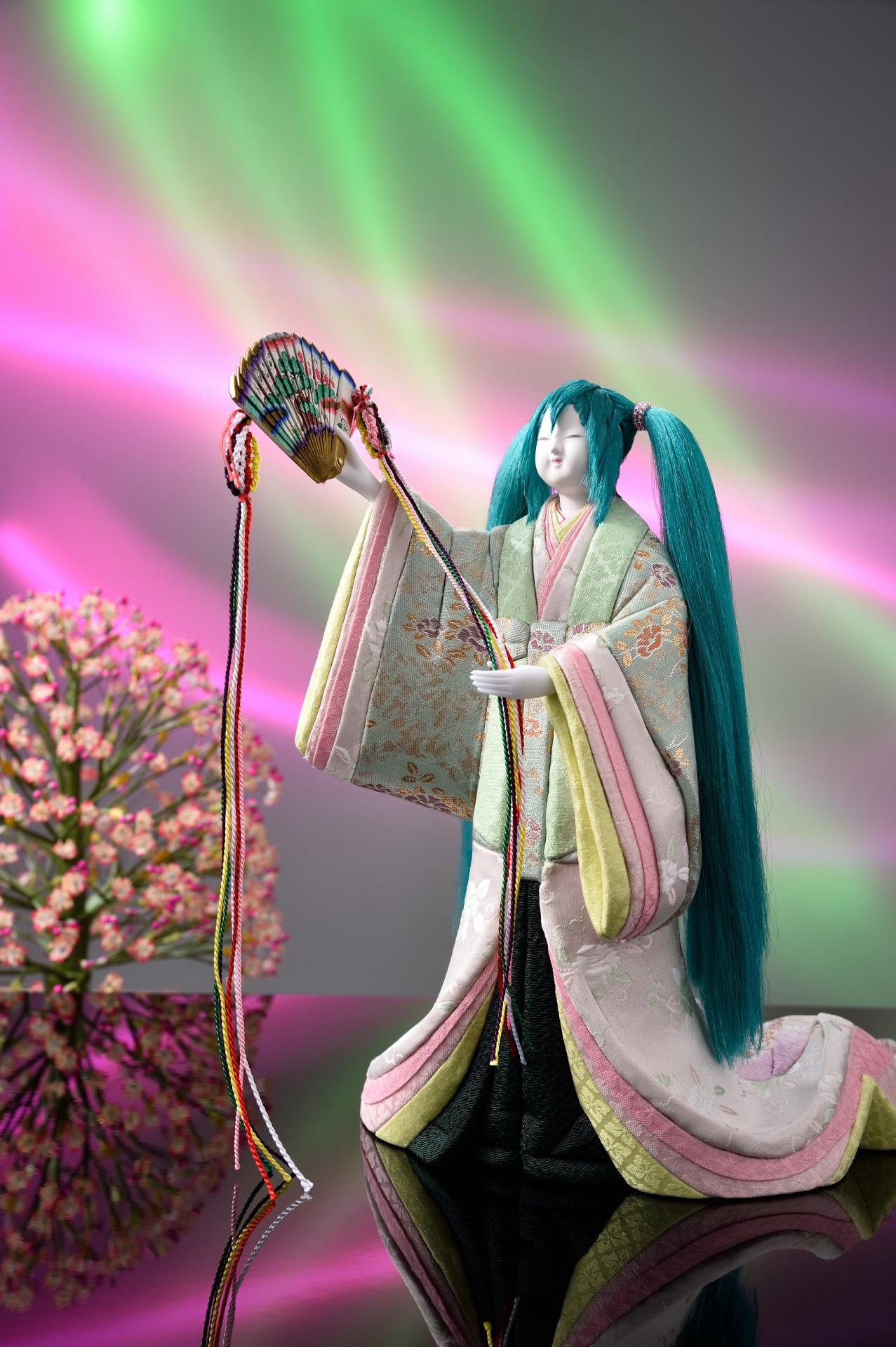 하츠네 미쿠의 키메코미 인형이 제작되었다고 합니다.