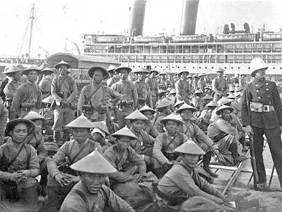 1차 대전 中 서부전선에서 만난 베트남과 미국, ..