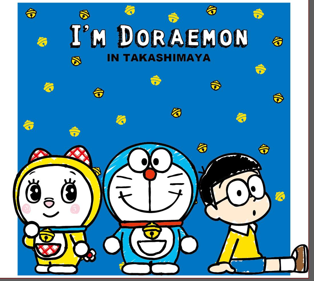 산리오가 디자인한 '도라에몽' 관련 상품, 타카시마..