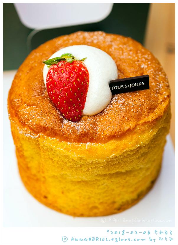 [뚜레쥬르] 딸기 클라우드 쉬폰과 허니케이크