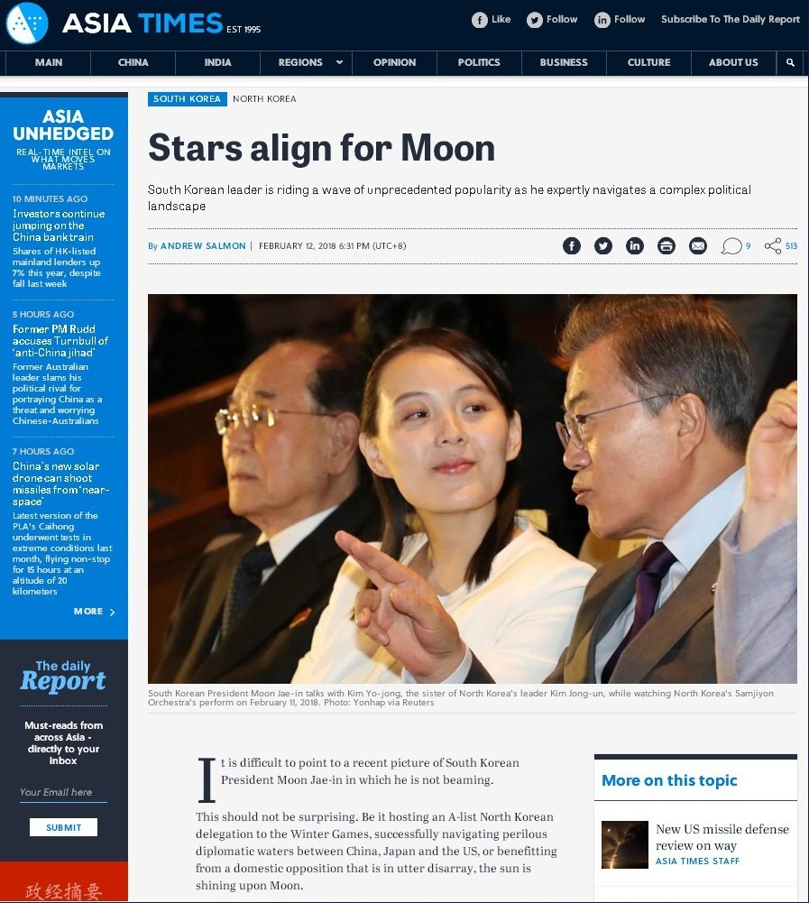 "[A.Times] ""Stars align for Moon"""