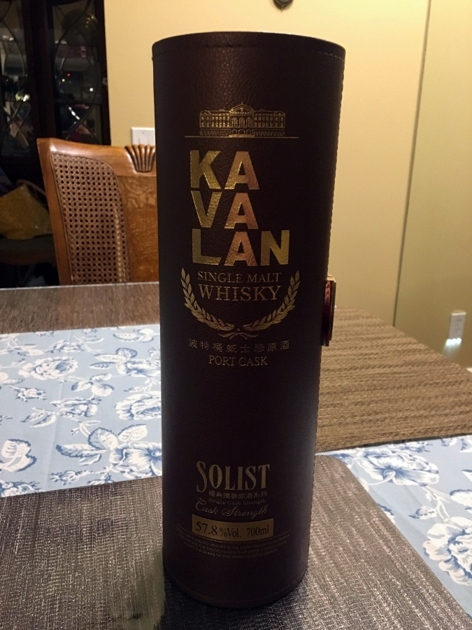 [酒] Kavalan Solist Port Cask