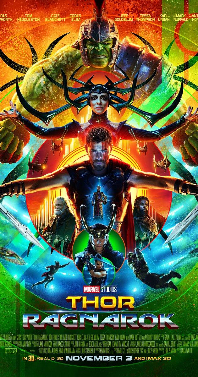 토르: 라그나로크 (Thor: Ragnarok, 2017) - 스..