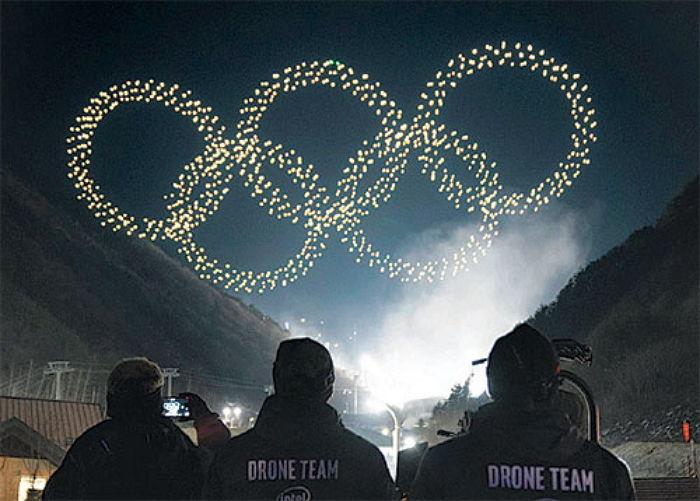 평화롭게 올림픽이 끝났네요.