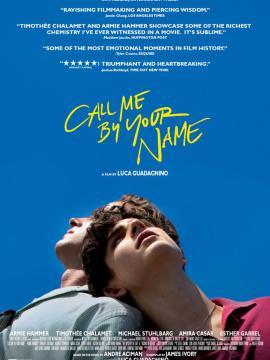 영화 Call Me by Your Name, 2017