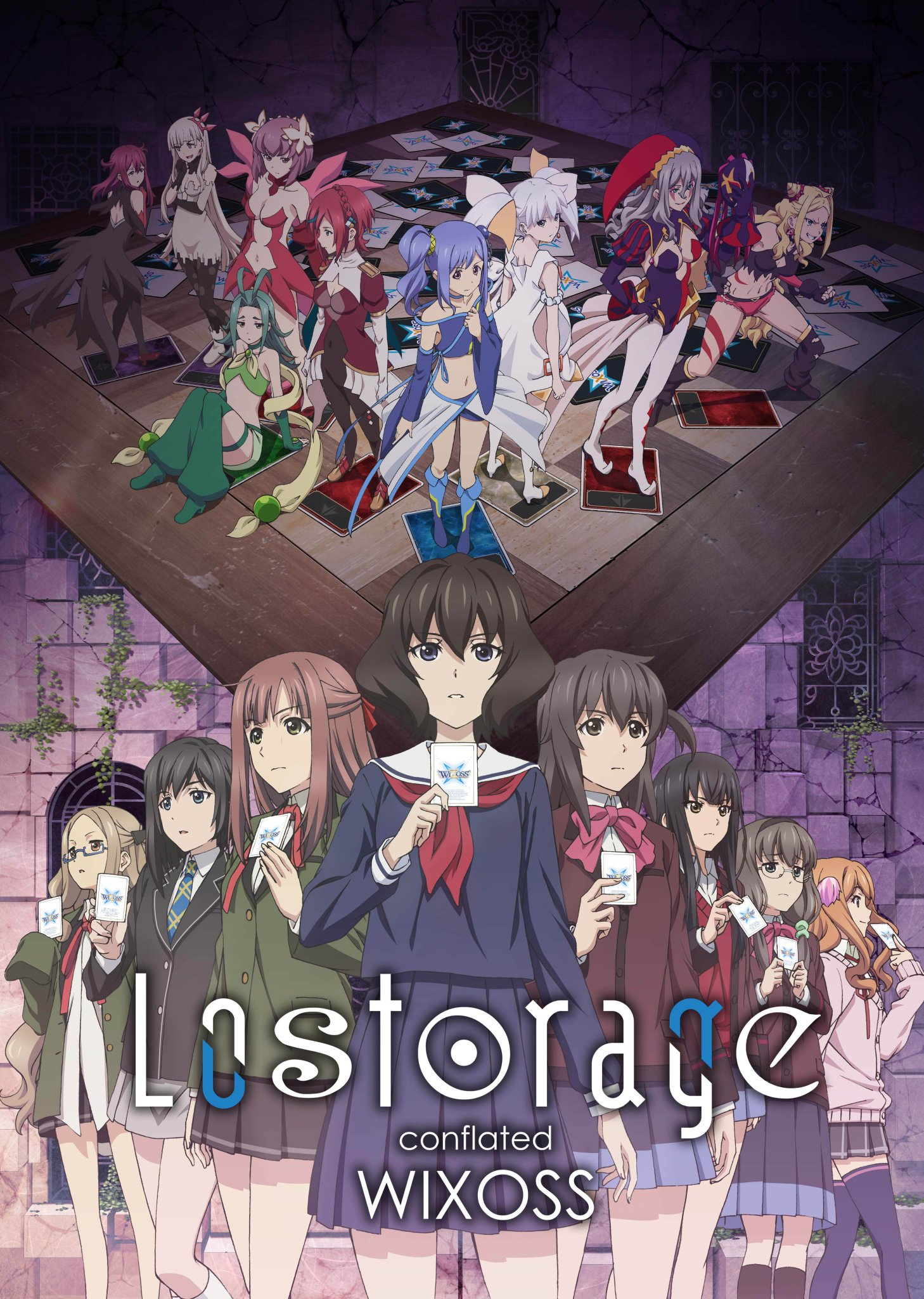 TV 애니메이션 'Lostorage conflated WIXOSS' ..
