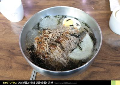 2018.3.22. (3) 살얼음 낀 동치미막국수와 메밀전..