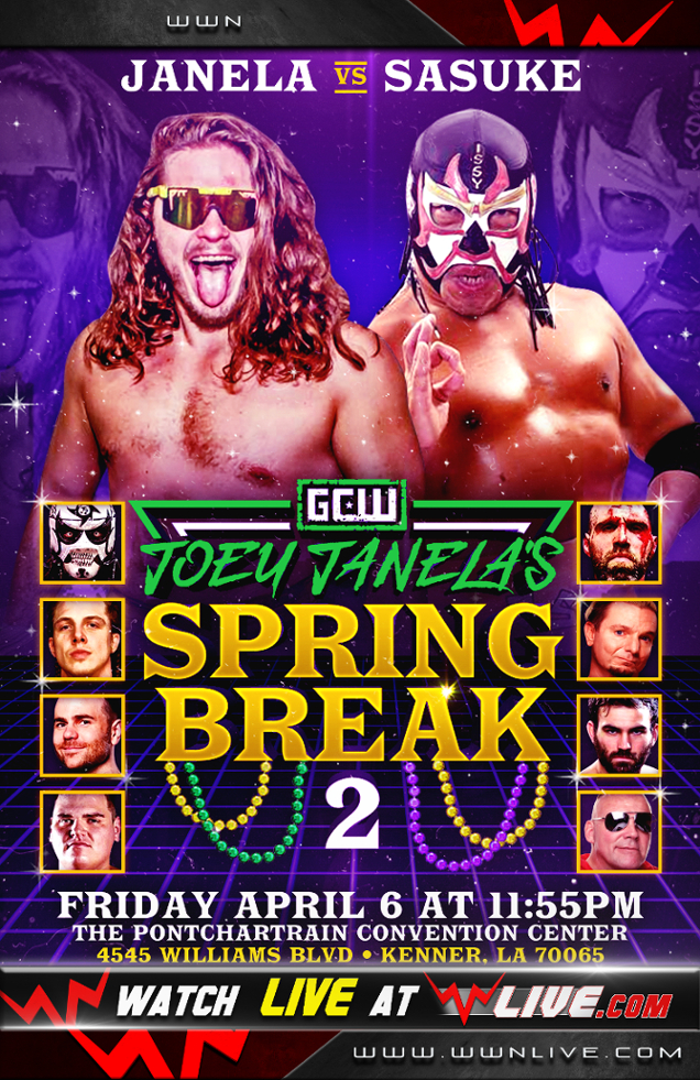 "GCW Joey Janela's ""Spring Break 2"" 리포트"