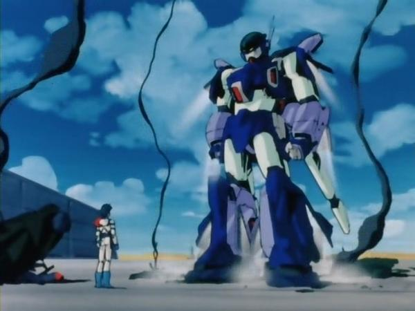 도전, 슈퍼로봇대전J, 제 3화: 그의 이름은 에이지