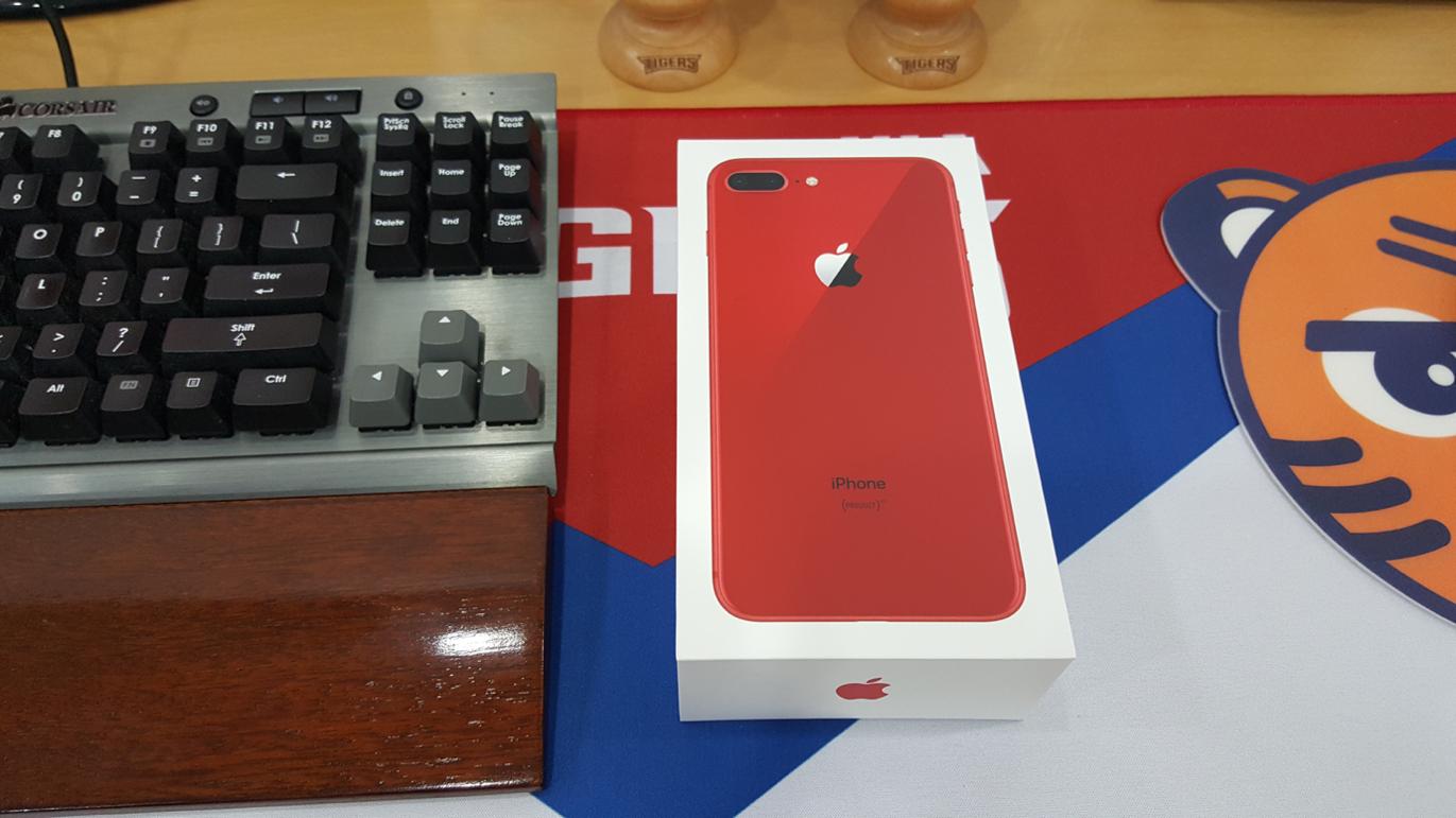 아이폰8플러스 레드 개봉기