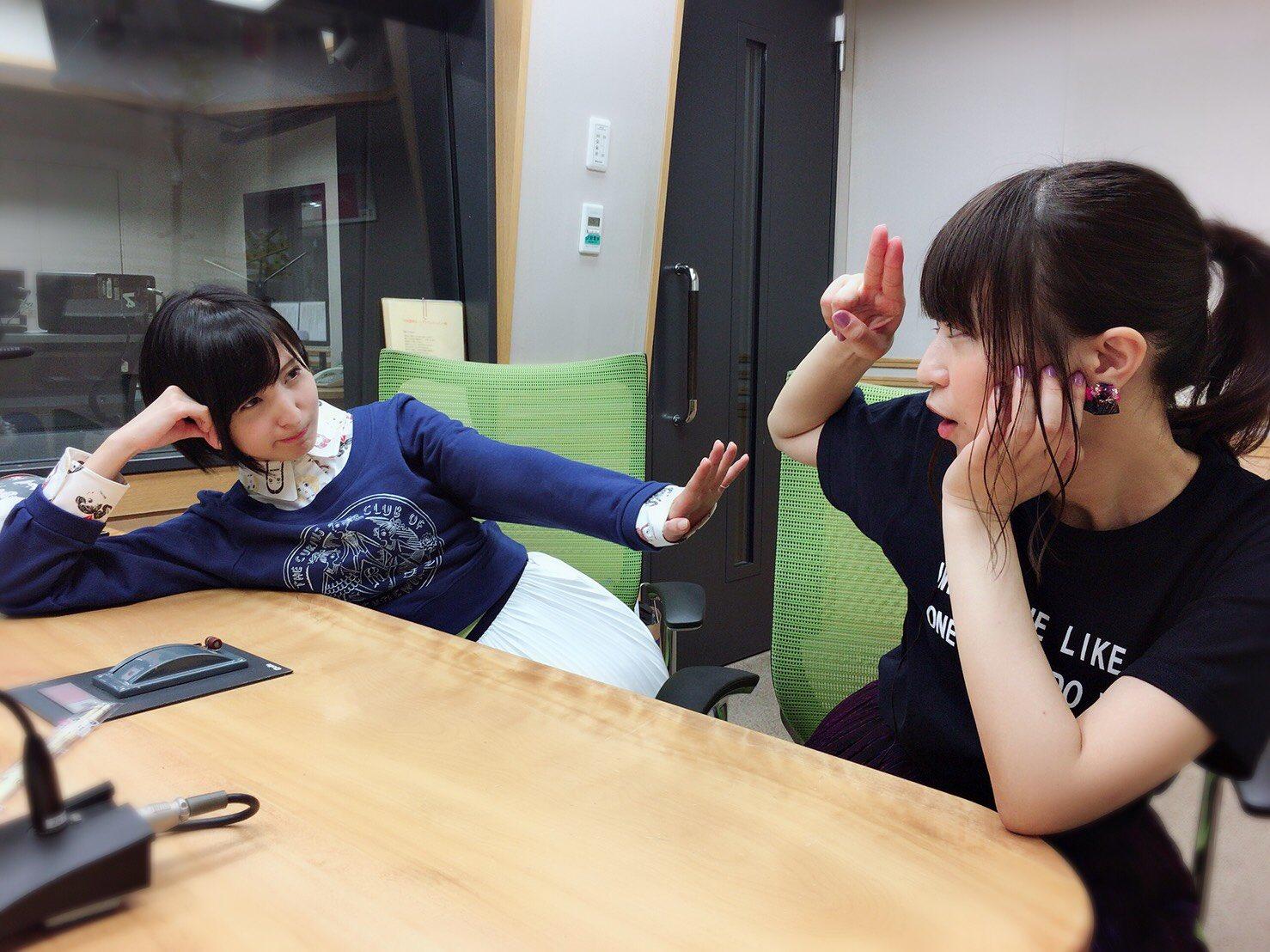 성우 사쿠라 아야네 & 오오니시 사오리의 사진, ..
