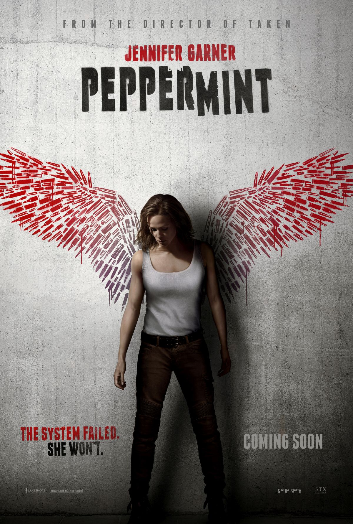 """제니퍼 가너의 오랜만의 액션 영화, """"Peppermint"""" .."""