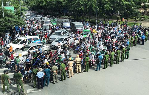 주말 반중 시위 경과