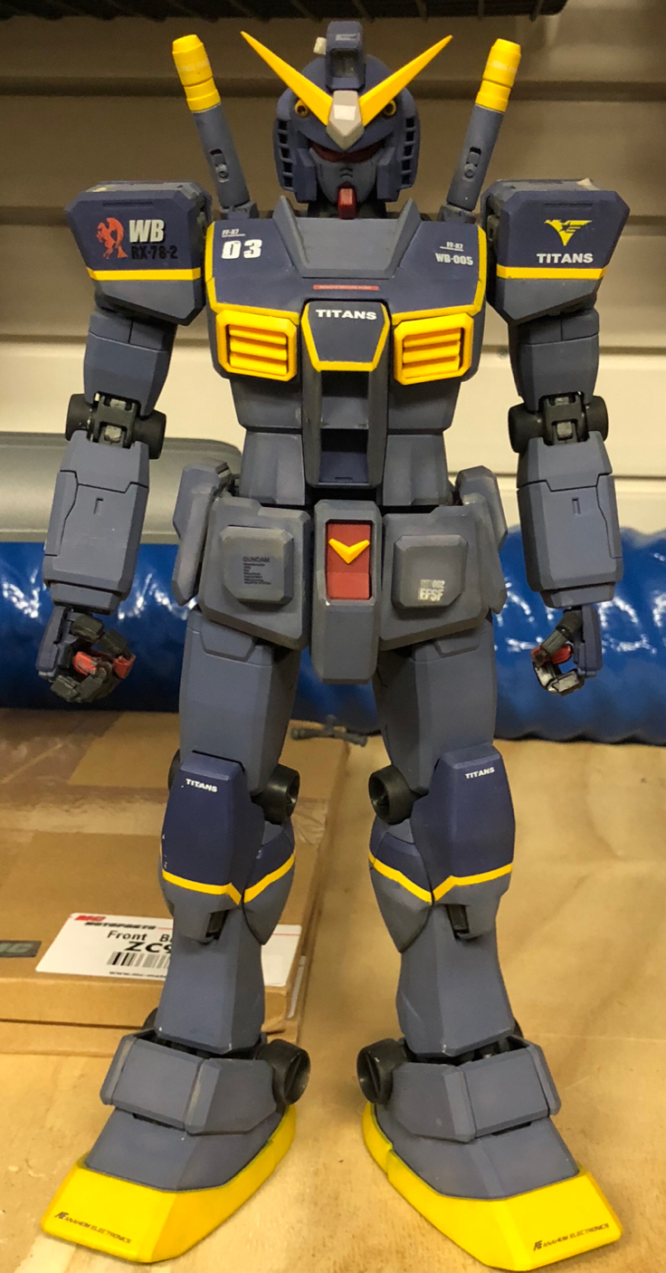 RX-78-T Gundam Titanz Test Unit