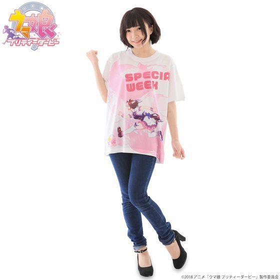 우마무스메의 스페셜 위크가 프린트된 티셔츠 발매 소식