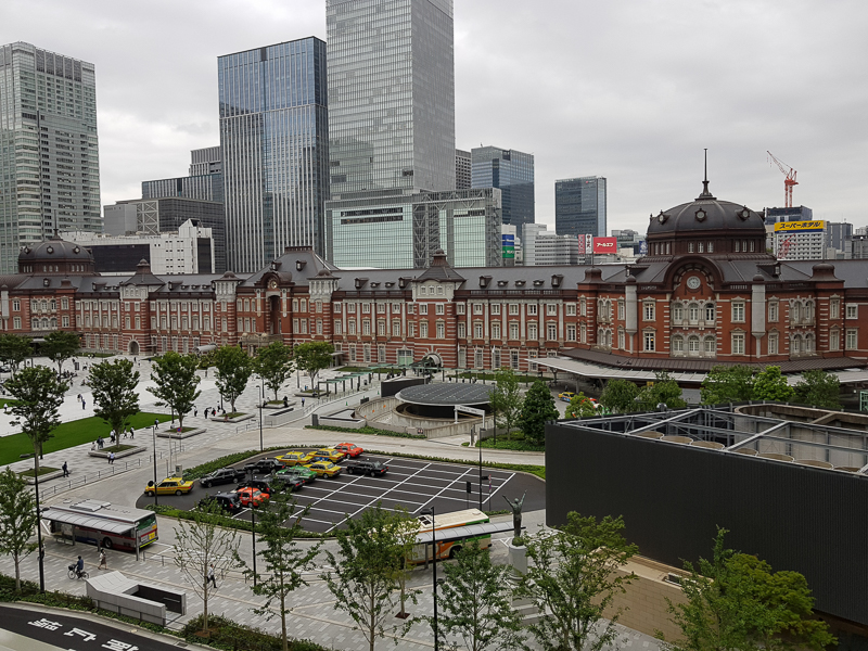 도쿄'18<마루노우치 빌딩, 쇼핑몰> - 도쿄역 주변..