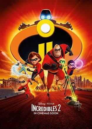 인크레더블 2 (Incredibles 2, 2018) - 스포 주의