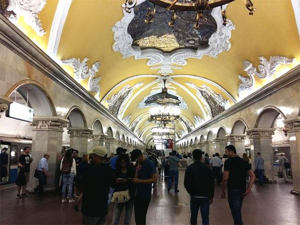 러시아 여행의 세 벗