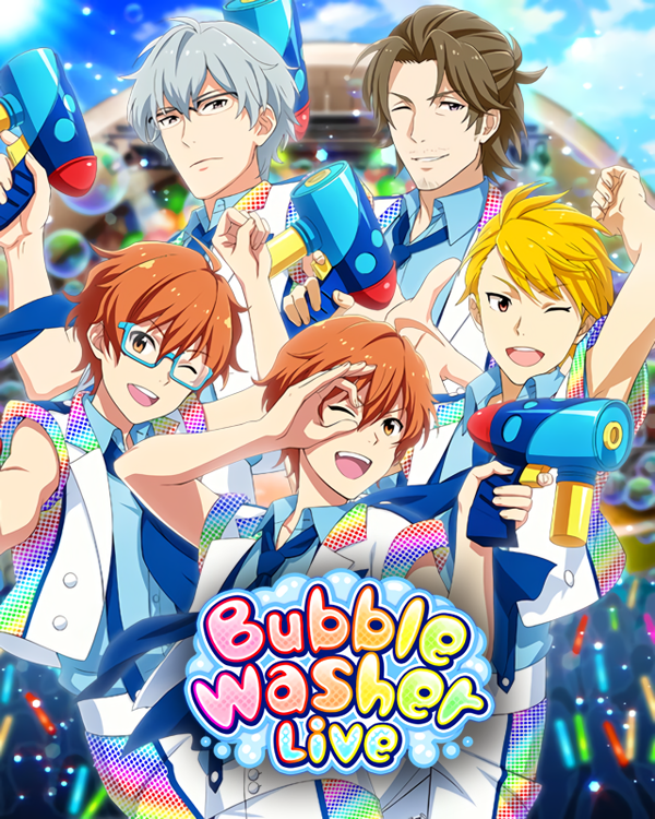 Bubble Washer Live