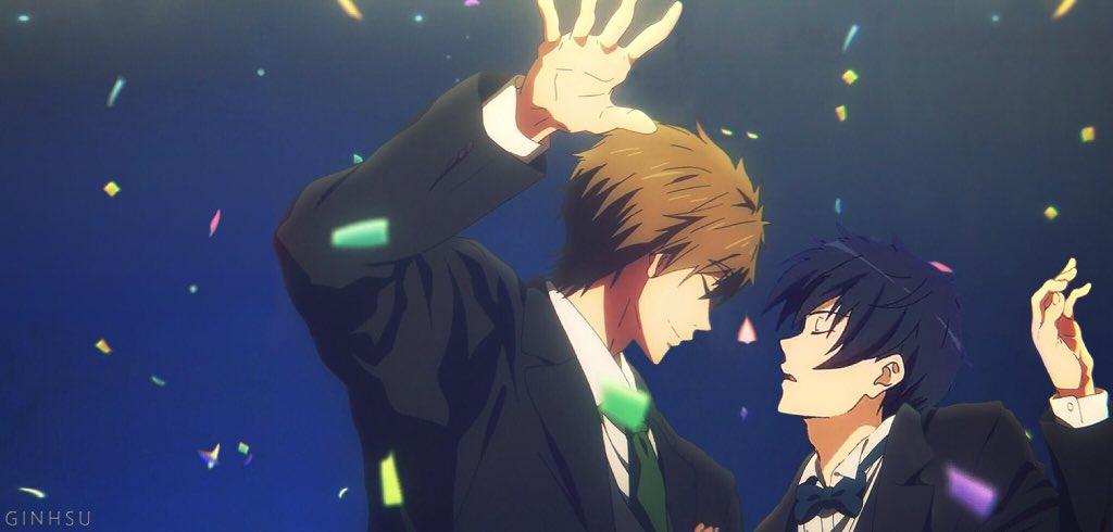 마코토랑 하루카 둘이서 춤을.