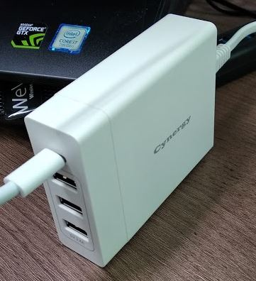 Cynergy 75W 충전기 (USB C타입 60W)