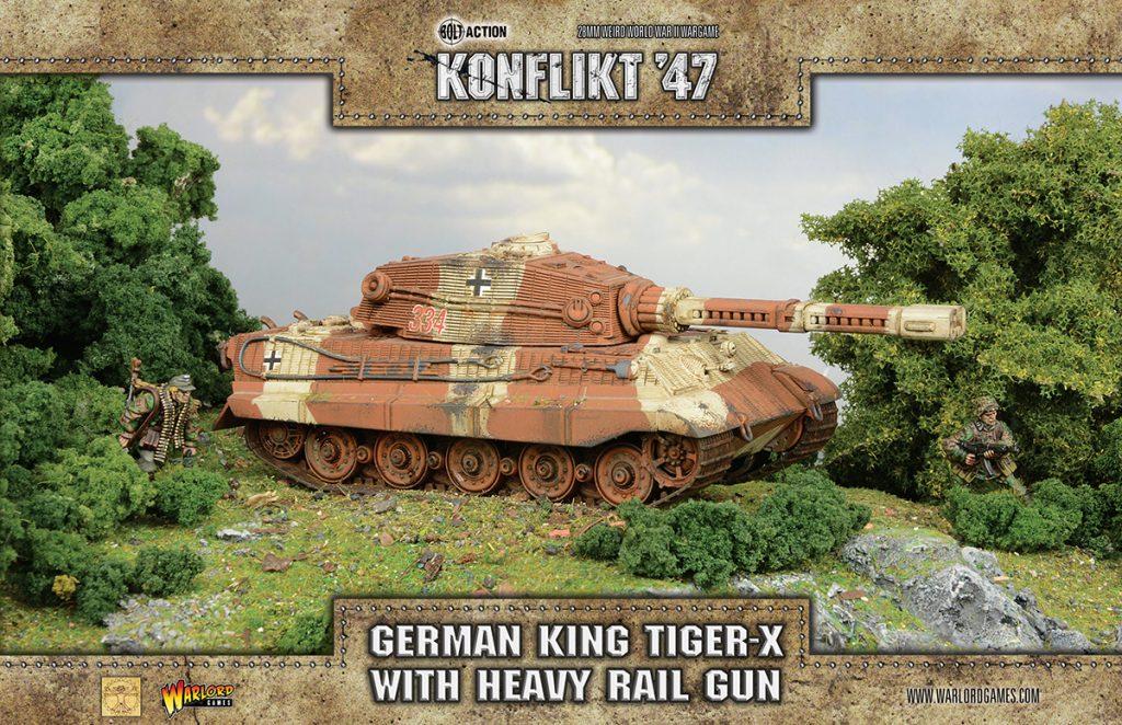 [Konflikt'47] King Tiger-X와 Heuschrecke..