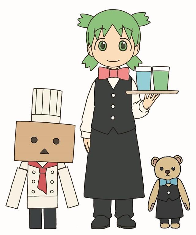 만화 '요츠바랑!'의 카페 이벤트가 개최된다고 합니다.