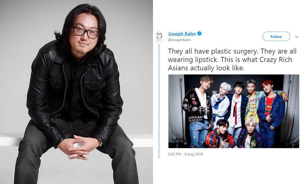 저열한 조셉 칸의 BTS에 대한 인종주의적 비난 단상