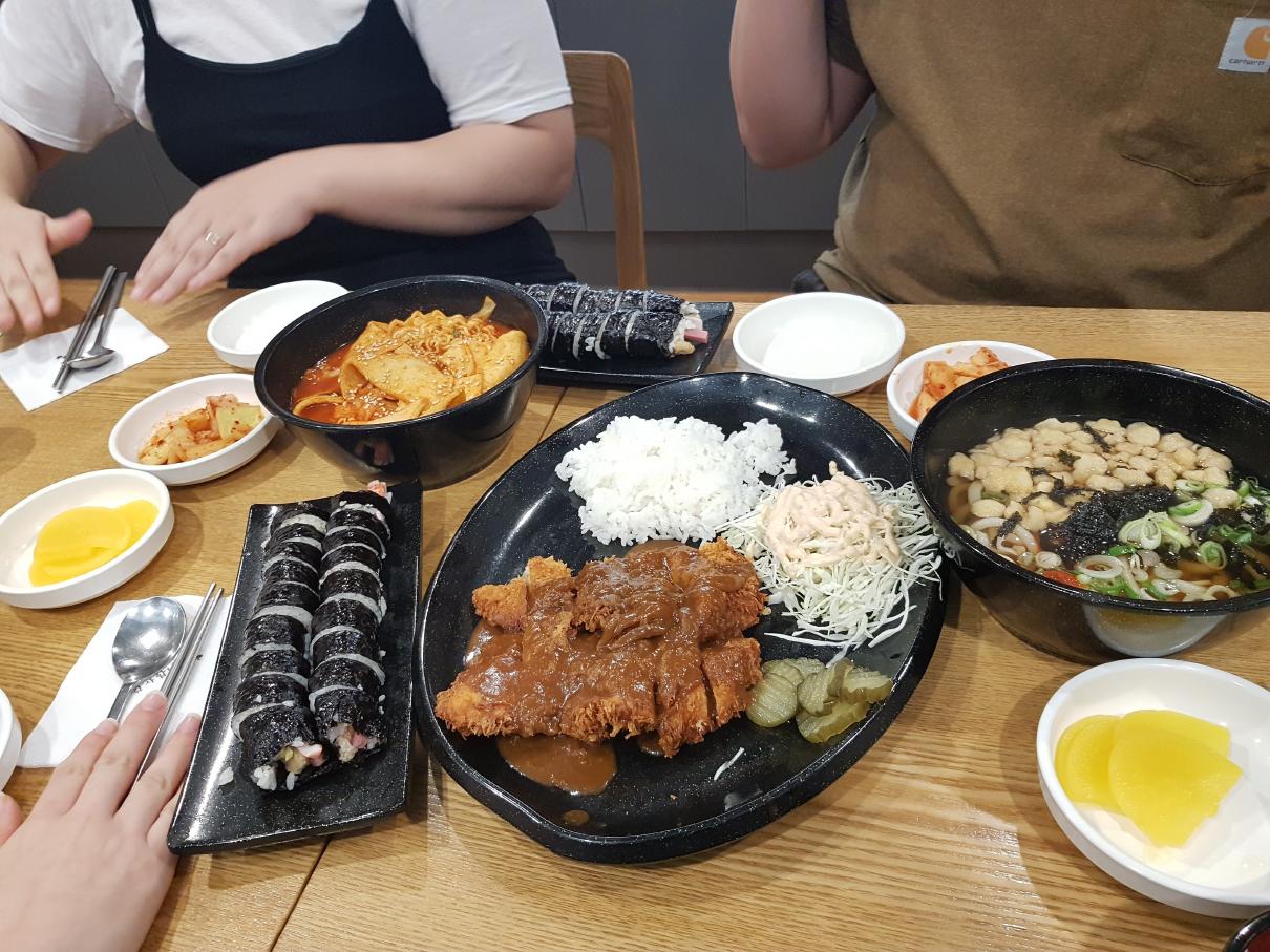 저녁은 재벌김밥 스페셜!