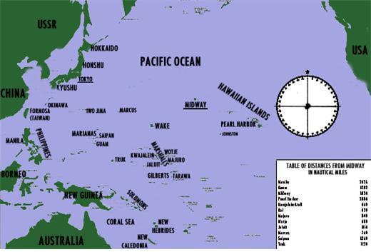 [40년]미국 태평양함대의 우왕좌왕...