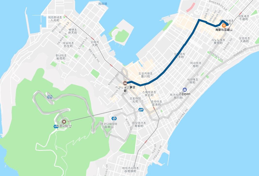 2018 여름 북해도 여행기 2일차-2 (하코다테야마)