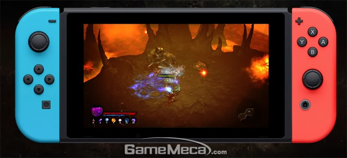 디아블로(Diablo) 3 닌텐도 스위치 버전 11월 2일..