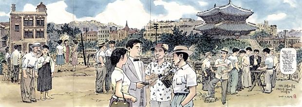 영화 속 장면으로 보는 서울의 옛 풍경