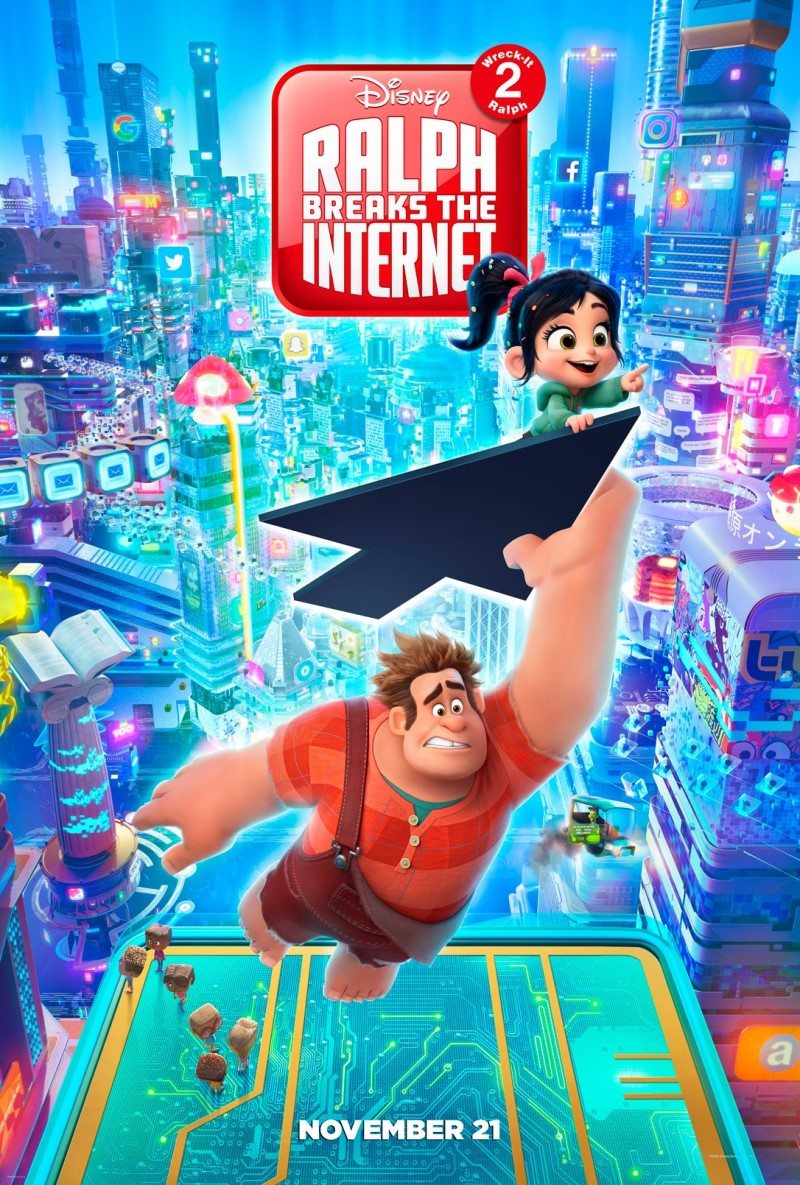 """Ralph Breaks the Internet"" 예고편 입니다."