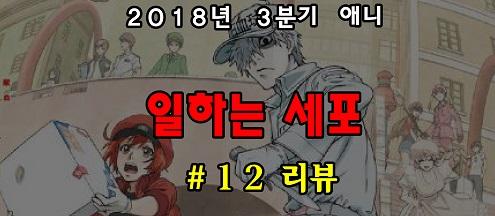 [자막] 일하는 세포 12화 자막