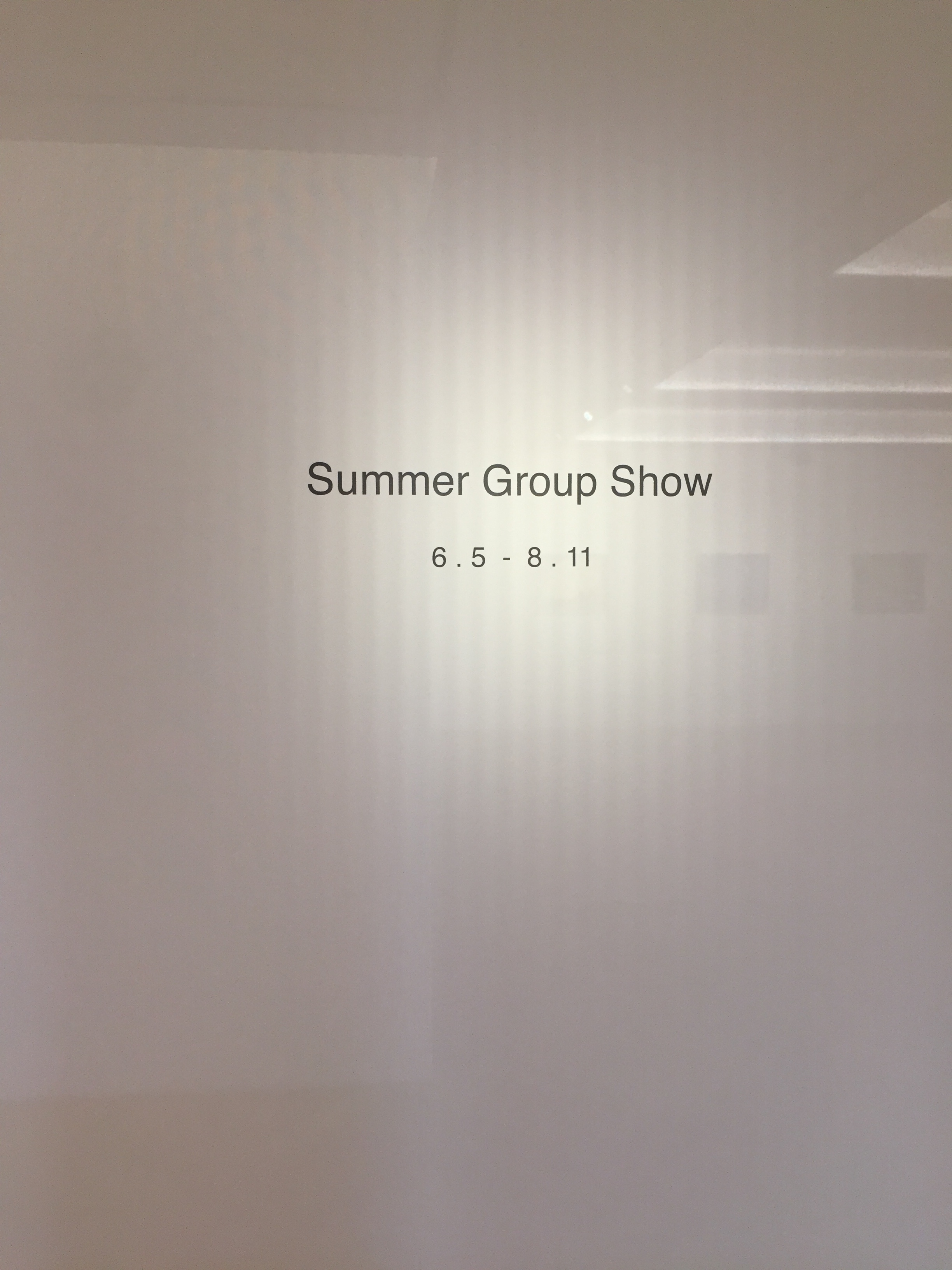 summeru group show, PACE gallery