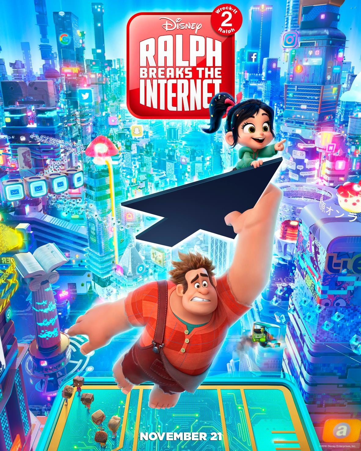 """Ralph Breaks the Internet: Wreck-It Ralph 2"".."