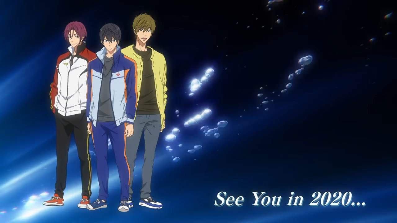 Free! -Dive to the Future- 제12화 스페셜 무비..